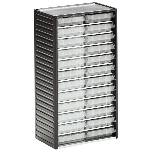 552-3 Small Parts Cabinet with 24 Drawers · Cross_Dividers_For_Drawers Length_Dividers_For_Drawers  sc 1 st  Plastor & Ref: 552-3 Small parts cabinet (180 x 310 x 550mm) 24 drawers ...