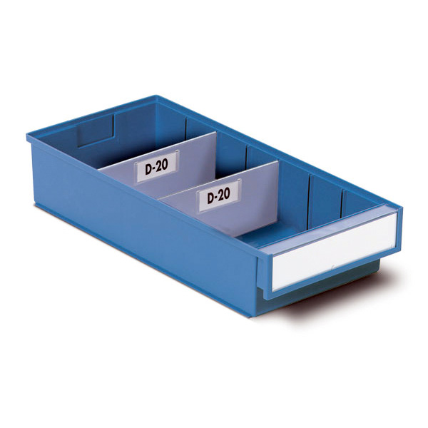 Beautiful Ref: PLAS VD 10 Cross Dividers For 92mm Wide Storage Bin Drawers (x100)