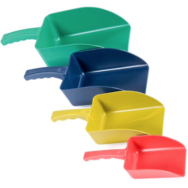Ref Scoops 4 Sizes Plastic Ingredient Scoops Pack Of