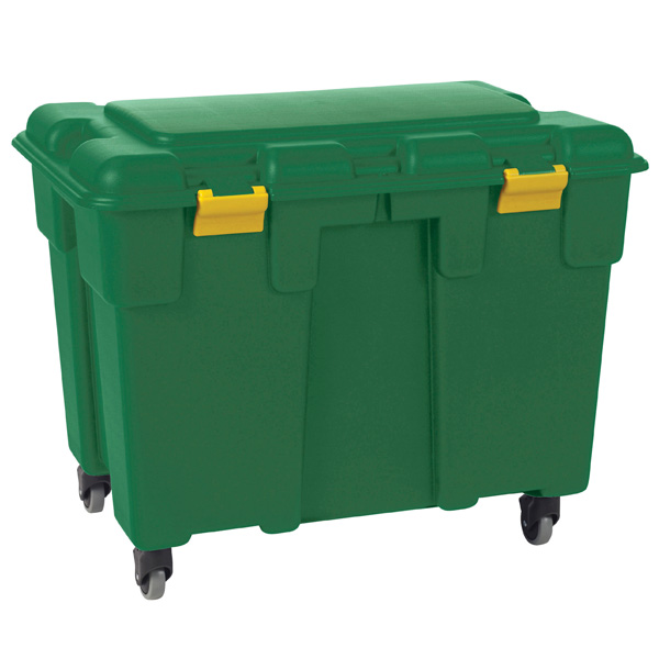 Attrayant Green Storage Trunk With Wheels