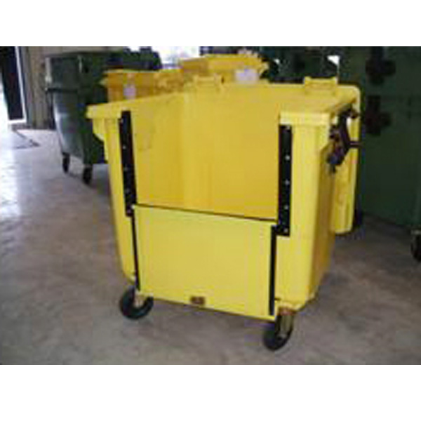 Extra Large Wheeled Bin 1100 Litre With 4 Wheels And