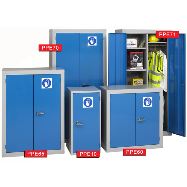 Ref: PPE71 PPE Cabinets (1830 x 915 x 457mm) | Plastic Containers ...