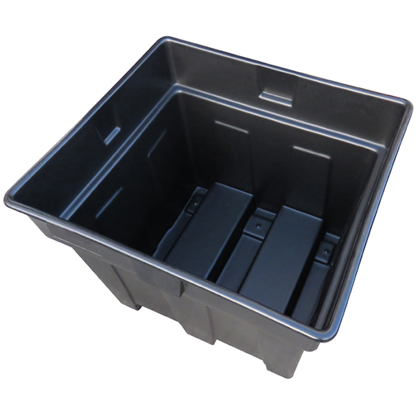 Ref Bigbox R Large Recycled Plastic Nestable Pallet Box