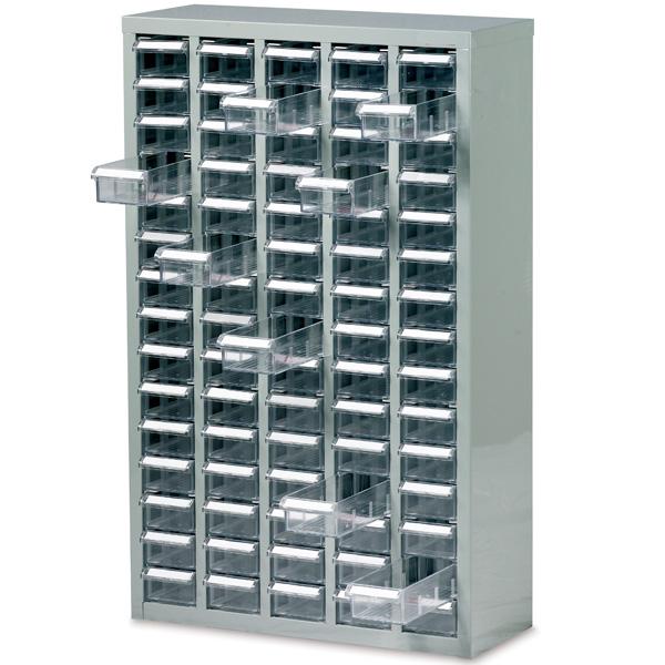 Ref B052006 Small Parts Box Cabinet 75 Drawer Unit