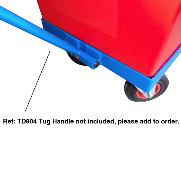 Qs Heavy Duty Dolly Plastic Crate Dollies For Tool