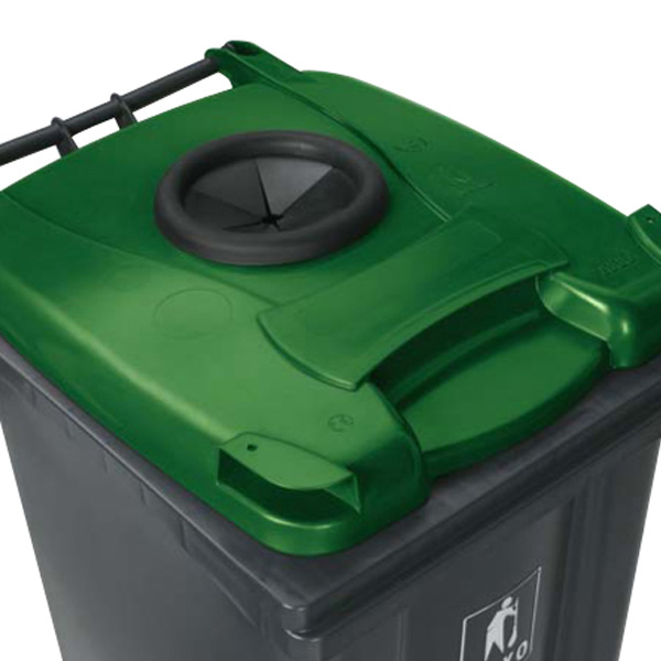 Density Of Plastic >> Wheelie Bin (140 Litre) with 2 Wheels | Plastic Containers ...