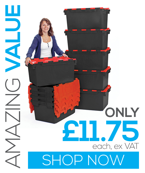 LC3-P 80 Litre Plastic Crates - Amazing Value