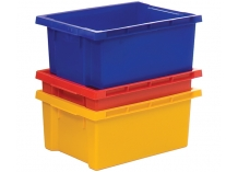 Coloured 180° Degree Stack Nest Heavy Duty Containers