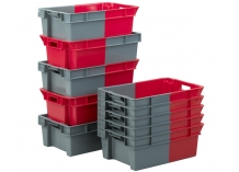 180° Degree Stack Nest Turn Containers