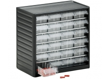 Clear Drawer Small Part Drawer Systems and Cabinets