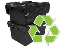 Plastic Storage Boxes Made From Recycled Plastic
