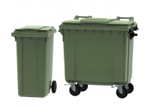 Green Wheelie Bins