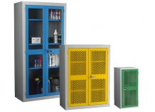 Mesh and Polycarbonate Door Cabinets
