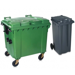 Waste Bins, Wheelie Bins and Recycling Bins