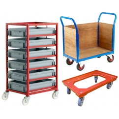 Trucks, Trolleys and Dollies for the Workplace