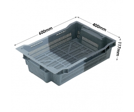 Euro Stacking and Nesting Ventilated container 18 Litres