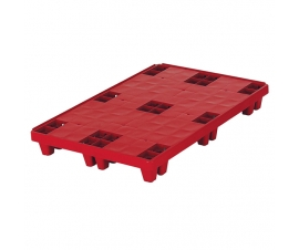 3E002 Plastic Packpal Solid Deck Pallet 1200x800 Nesting