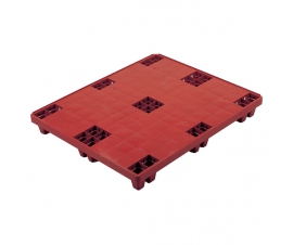 3F002 Plastic Solid Deck Packpal Pallet 1200 x 1000