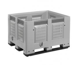 670 Litre Vented Pallet Box with Runners