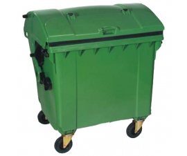 1100 Litre Bin with Roll Top