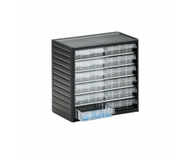 292-3 Small Parts Drawer Cabinet with 12 clear drawers
