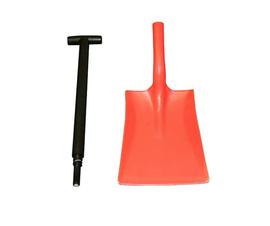 2 Part Shovel for Grit & Salt Bins