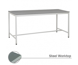 Workbench with Steel Worksurface