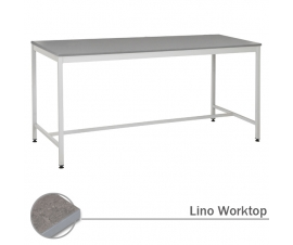Workbench With Lino Worksurface