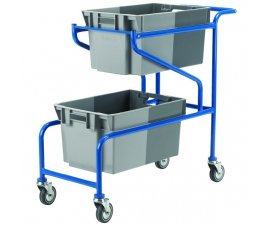 Ref: CT07P Container Trolley (50Kg)