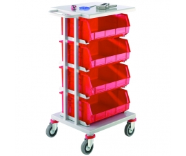 4 Container Distribution Trolley