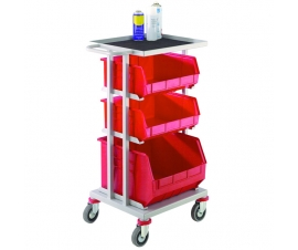 3 Container Distribution Trolley