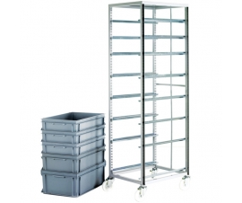 Adjustable Plastic Tray Rack