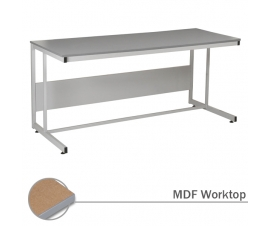 Cantilever Workbench with MDF Worktop