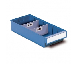 186mm Wide Storage Bin Drawer Dividers