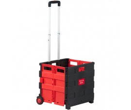 Folding box trolley