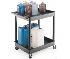 2 Level Shelf Tray Trolley