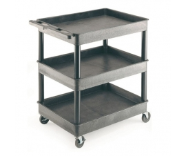 3 Level Shelf Tray Trolley
