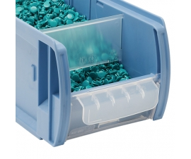 Product feeder panel for Kanban CTB Range picking container bins