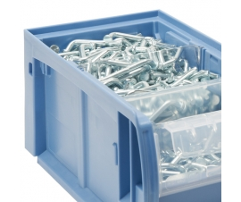 Clear Cross Dividers for Kanban CTB Range Picking Bins