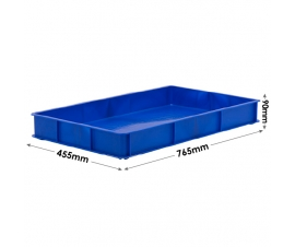 Stacking Confectionery Trays with solid sides and base