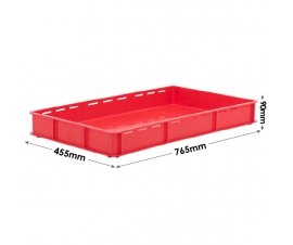 Stacking Confectionery Trays Slotted sides and vented base
