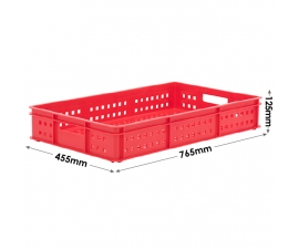 Stacking Confectionery Trays 30 Litre mesh sides and base