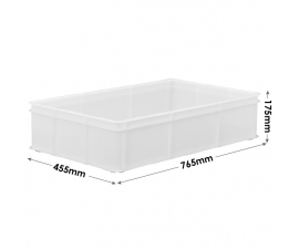 Deep Confectionery Trays in White - M311B