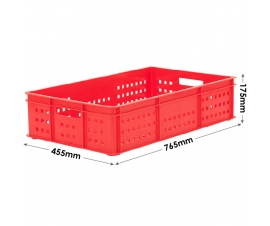 Stacking Confectionery Trays mesh sides and base