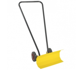 Snow Plough with narrow blade and push-along handle