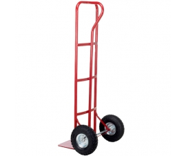 'P' shape handle sack truck