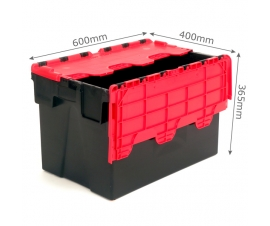 Attached Lid Container with Hinged Lid (62 Litre Capacity)