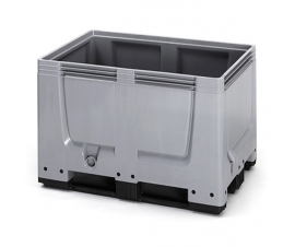 Euro standard 1200mm x 800mm Plastic Pallet Box with Runners