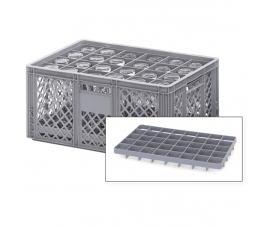 Euro Container Dividers - Base seated for 600mm x 400mm Containers
