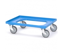 Euro Dolly for Containers and Crates - Blue